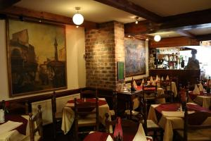 Tradtional Italian look restaurant